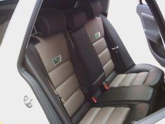 zadní sedačky na Škoda Octavia 2