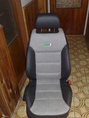 přední sedačka na Škoda Octavia 1 v úpravě tvaru Octavia RS2