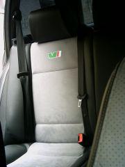 zadní sedačka na Škoda Octavia 1 v úpravě tvaru Octavia RS2