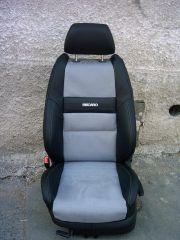 přední sedačka na Škoda Octavia 1 v úpravě tvaru Fabia 2 RS