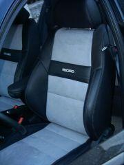 přední sedačky na Škoda Octavia 1 v úpravě tvaru Octavia RS2