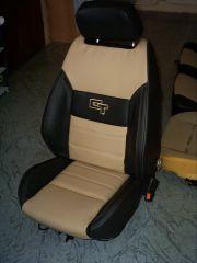přední sedačka na W Golf 2 v úpravě Octavia RS2