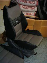 přední sedačka na Ford Focus 1 v úpravě Octavia RS2