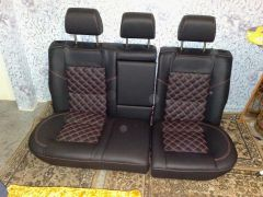 zadní sedačky na W Golf 4 GTi