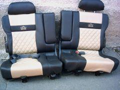 Sedačky z Toyoty Land Cruiser