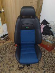 sedačka z Octavia 1 upravena do tvaru Fabia RS