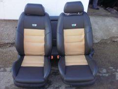 Přední sedačky z Octavia 1 upravené do tvaru Fabia 2 RS