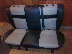zadní sedačky z Octavia, zadní sedačky z Ford Focus1