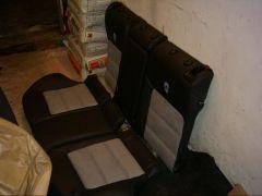 zadní sedačky z Octavia 2