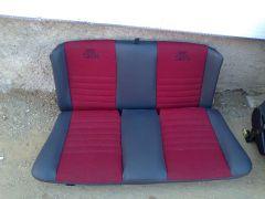 Zadni sedačky z W Golf 3 Cabrio