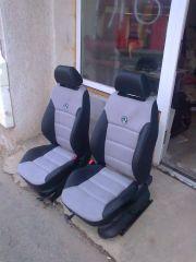 předni sedačky z Fabije 1 upravene do tvaru Octavije 2 RS