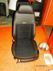 pšedni sedačka z Octavije 2 upravena na RS