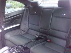 zadni sedačky z BMW 3 ,E90