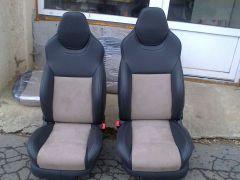 sedačky z Octavii 1 upravene do tvaru Octavii 3 RS