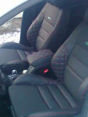 sedačky z Octavii 2 upravene do tvaru Fabii 2 RS