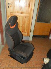 sedačka z Octavii 2 upravena do tvaru Octavii 3 RS
