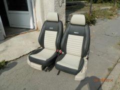 sedačky z Octavii 2 upravena do tvaru Fabii 2 RS