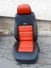 sedačky z Octavii 1 upravene do tvaru Octavii RS2